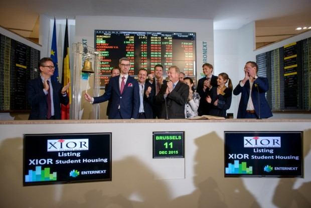 Bell Ceremony - Euronext Brussels - 11 december 2015