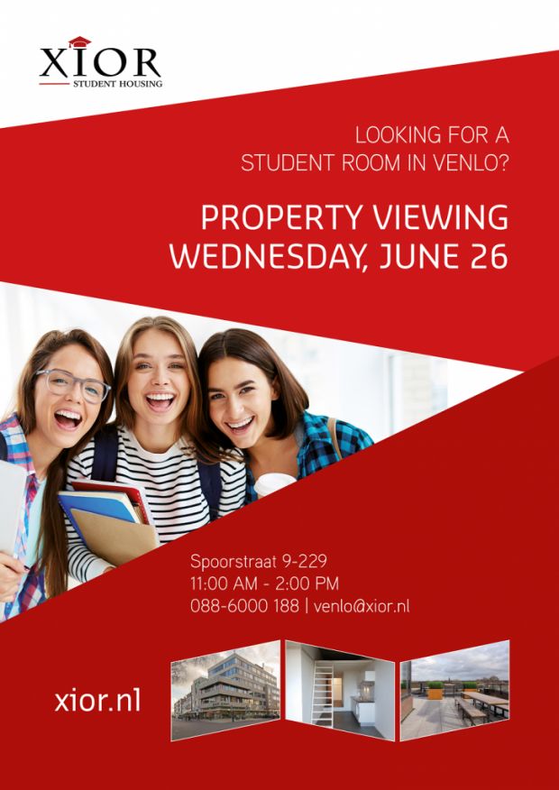 PROPERTY VIEWING VENLO June 26th 2019
